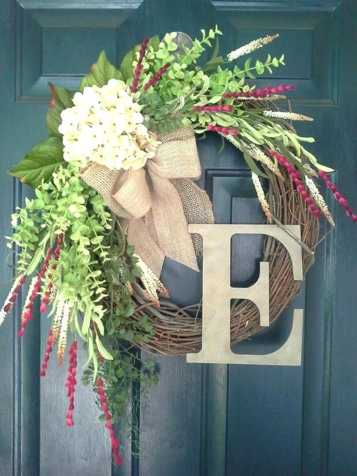 spring wreath for front door monogrammed wreaths for front door door wreath wreath spring wreath hydrangea monogram wreath burlap chevron red spring wreath front door