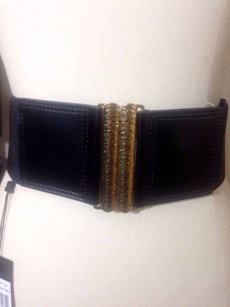 Bcbg womens hammered waist belt size m 6800 bcbg