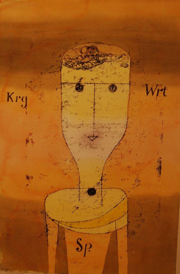 Paul Klee - Austérité verbale de l'avare / Musée Berggruen, Berlin