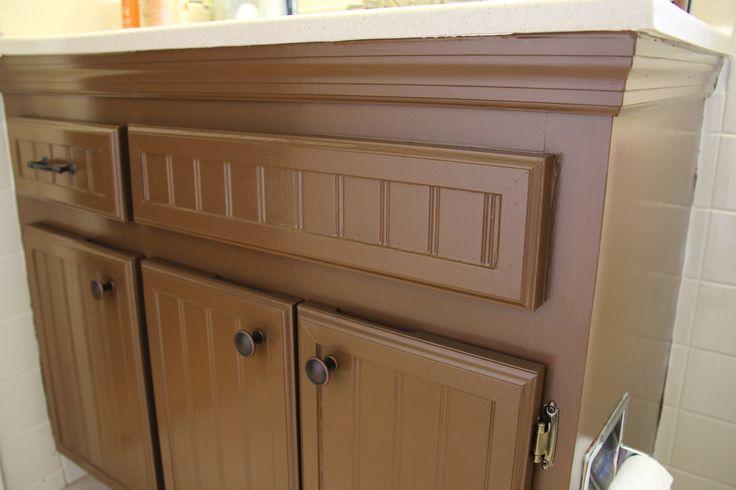 resurfaced bathroom cabinets july 2013 kitchen cabinet resurfacing