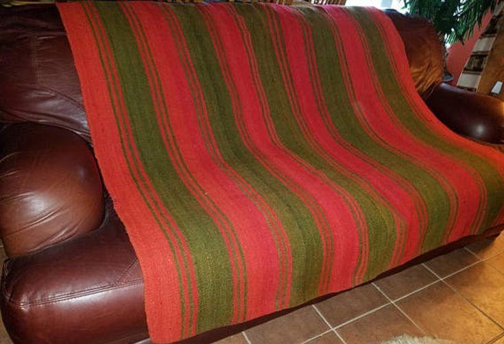 Frazada andes tribal rustic decor $279.00 #rusticdecor #rugs #handmade #tribal #andes #lifestyle  #homedecor  #frazada