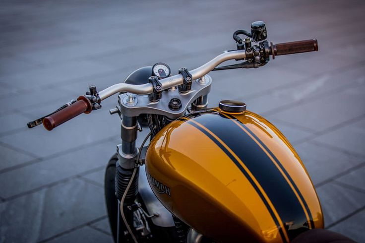 Triumph Thruxton by Down and Out Cafe Racers 3