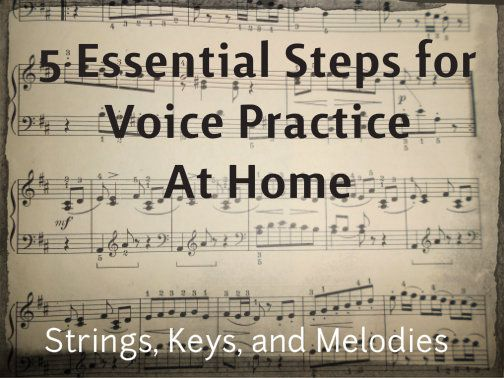 5 Essential Steps for Voice Practice