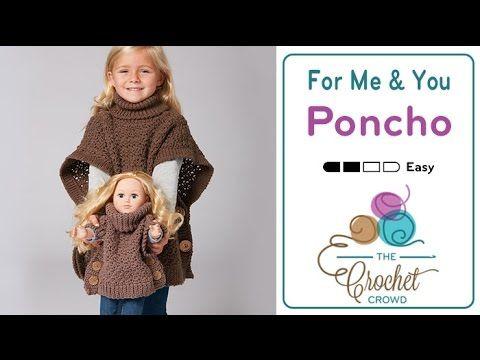 Poncho Infantil de Tricô - YouTube