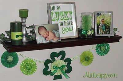St Patricks Day Banner: Ideas S Diy Crafts, Decor Ideas, St. Patties, Crafts Ideas, Birthday Boys, Patrick'S Crafts, St. Patrick'S Day, Birthday Ideas, Mantles Ideas