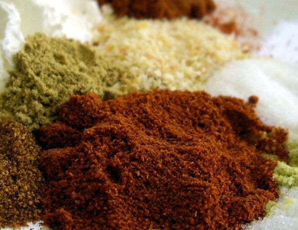 Rather than buying fajita seasoning, its easy to make your own.  Approximately 2 tablespoons equals 1 store-bought seasoning packet.