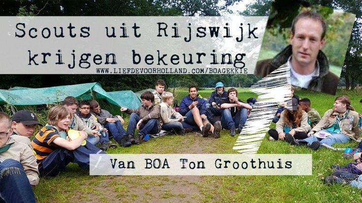 Scouts uit Rijswijk krijgen bekeuring