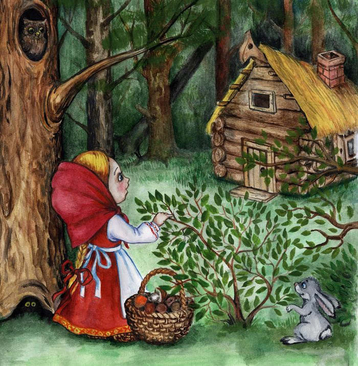 Иллюстрации и картинки русских народных сказок