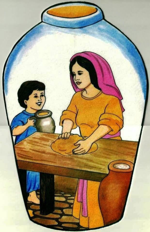 Objetivo: Demonstrar que servimos a um Deus que cuida de cada um de nós. Texto Bíblico: 2 Reis 4. 1-7 Que tal fazer a casa da viúva com ...