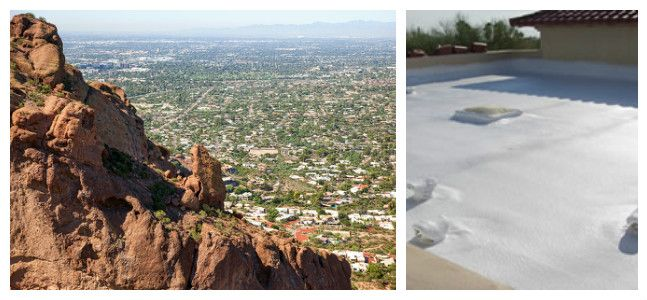 Here are some of the most common troublemakers to be on the lookout for with your foam roof in Phoenix, Arizona!