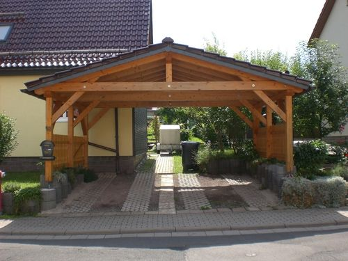 oltre 1000 idee su doppelcarport su pinterest einzelcarport saunahaus garten e carport aus holz. Black Bedroom Furniture Sets. Home Design Ideas