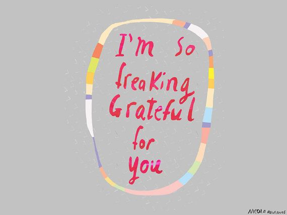 so grateful for you card ♡ valentines day ..mother's day ..father's day ......any day!