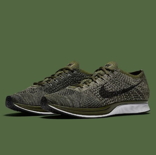 Air Zoom Mariah Flyknit Racer chaussures olive chinéNike 0jUg2