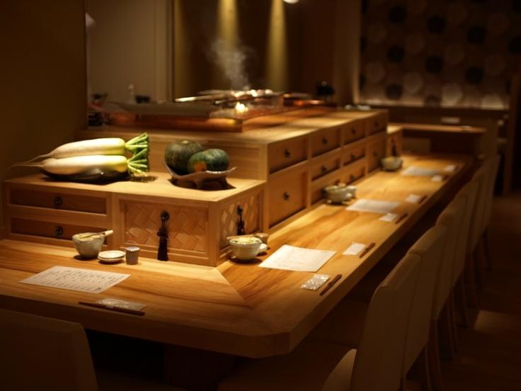 小割烹おはし恵比寿店内