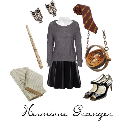 Hermione Granger-- costume inspiration. I think I've got this. :-D