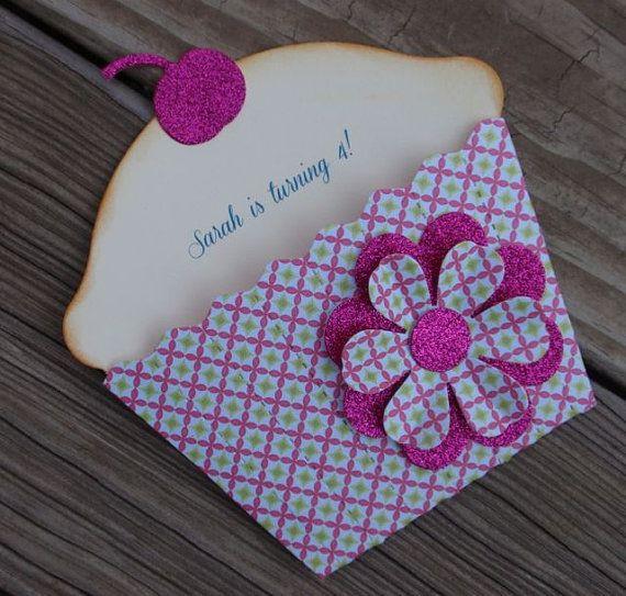 Cupcake Einladung