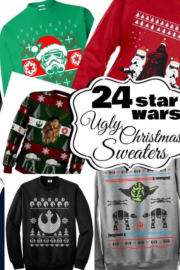 OMG! Look at all these ridiculously cool and so badStar Wars Ugly