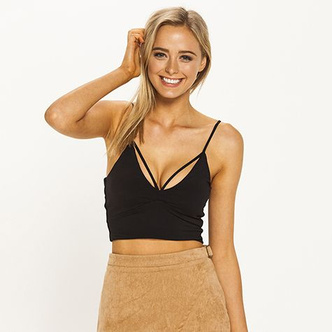 Image for Ava And Ever Maria Crop Top from City Beach Australia