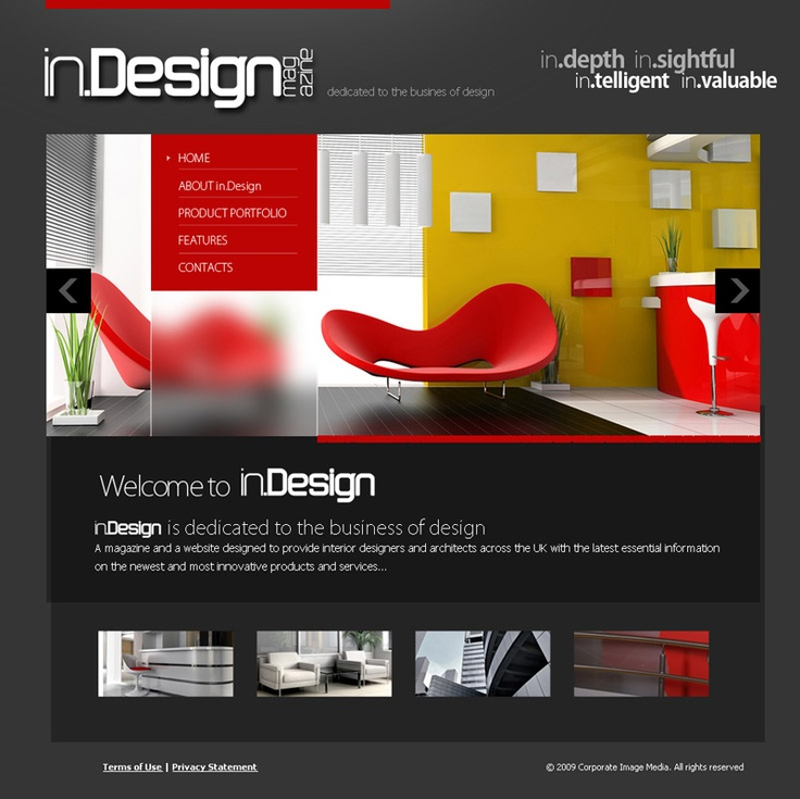 One of five B2B magazine portals designed and developed in Joomla, with business directory and digital advertising sales