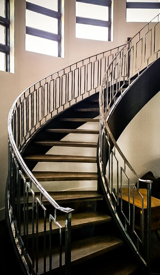 121 best Curved Staircase images on Pinterest | Curved ...