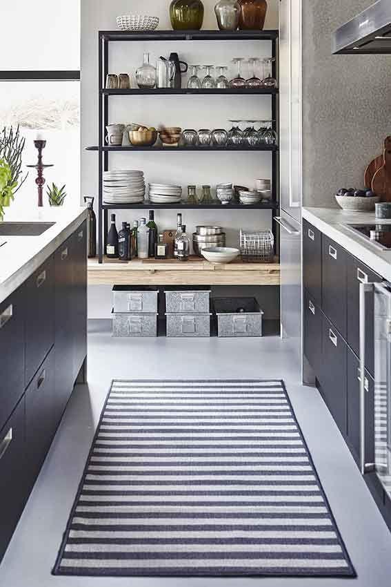 Teppich Mit Streifen Von House Doctor Kuchendesign Industrie Kuche Haus Kuchen