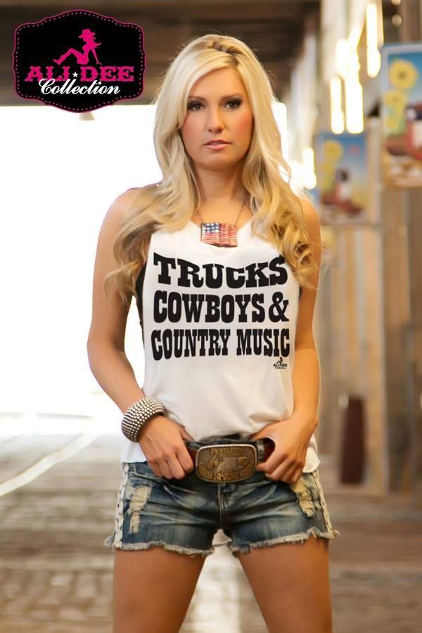 trucks, cowboys & country music