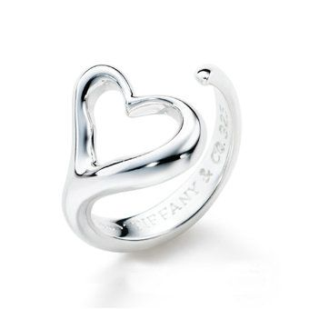 Tiffany & Co Elsa Peretti Open Heart Ring. ...so pretty