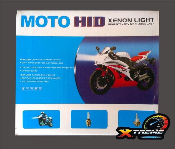 HID XENON Headlight Conversion Kit 8000 ALL BIKE SUITABLE (H2 & H4 TYPE)