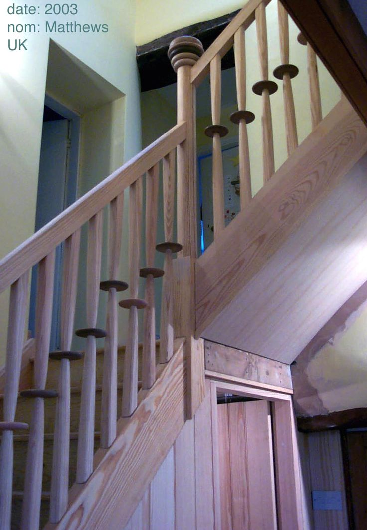 Bannister for Teesdale clients