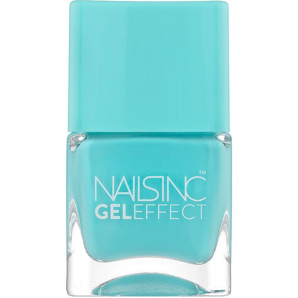 Nails inc Gel Effect Nail Polish, Queens Gardens 0.47 oz (14 ml) found on Polyvore