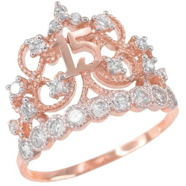 Amazonm 10k Rose Gold Czstudded Crown Sweet 15 Anos. Trigger Finger Rings. 25 Million Dollar Wedding Rings. Modern Fashion Wedding Rings. Engagement Chinese Engagement Rings. Louisville Rings. Understated Rings. Text Wedding Rings. Aurora Engagement Rings