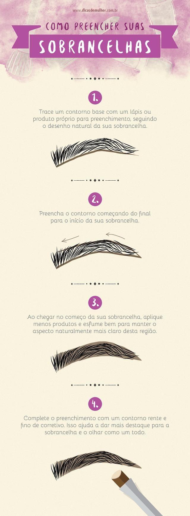 9 infográficos para você se tornar um especialista em maquiagem   – make