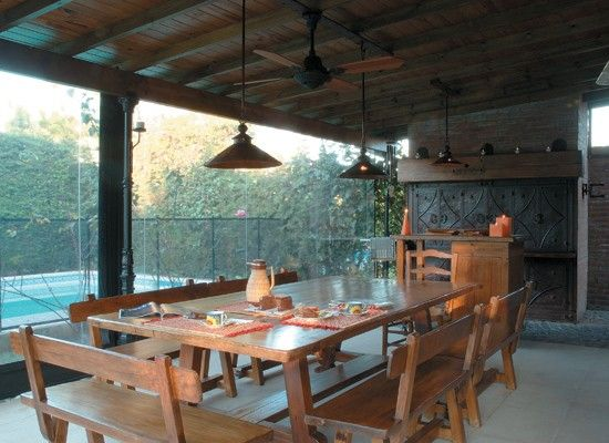 Inspiring Interiors: Typical Argentine Porches