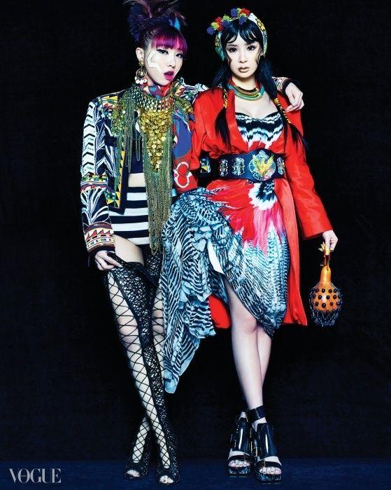 Minzy & Park Bom <3333