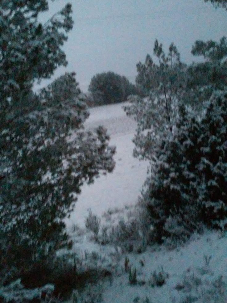 Nieve en Murcia