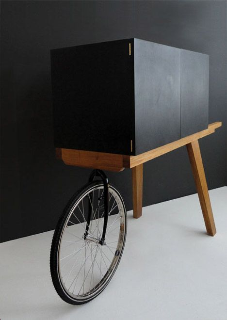 Low Lands Secretaire by Isabel Quiroga