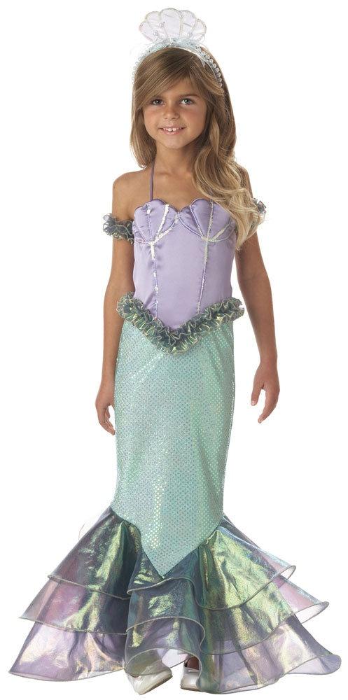 Magical Mermaid Kids Costume