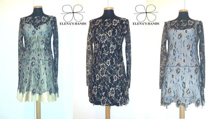 Un solo abito 3 modi per indossarlo #abiti #moda #elenashands