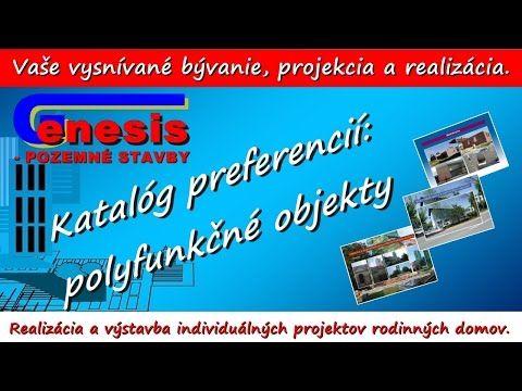 Genesis ps: prezentačný katalóg - polyfunkčné objekty - YouTube