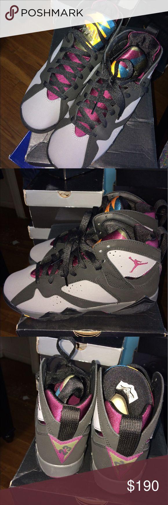 "Boys Air Jordan Retro 7 ""Bordeaux"" Boys (Grade School) Size 6. NEVER Worn Only Tried On & Comes In Original Box! Air Jordan Shoes Sneakers"