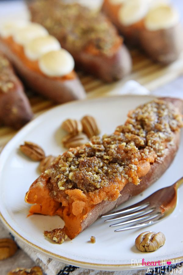 Twice-Baked Sweet Potatoes | Recipe | Twice Baked Sweet Potatoes ...
