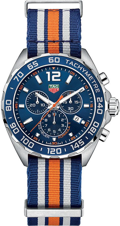 TAG HEUER Formula 1 stainless steel watch