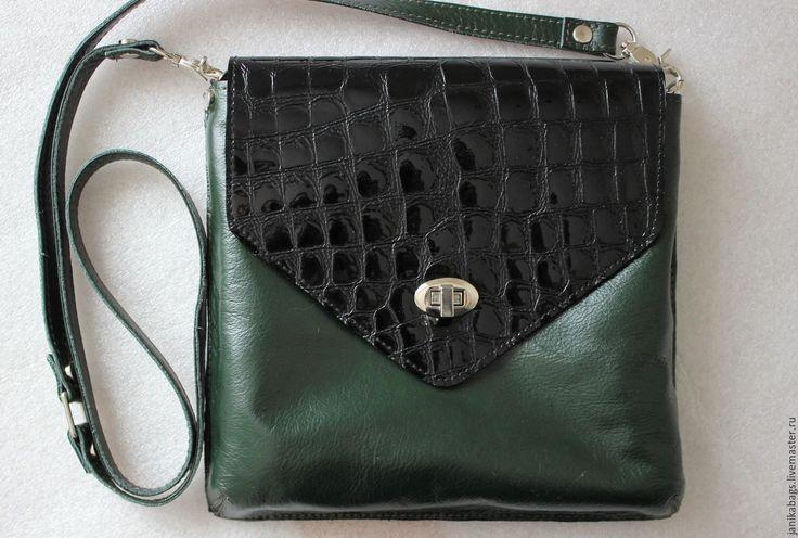 Купить Сумочка-клатч 102 - сумка женская, сумочка из кожи, сумка через плечо