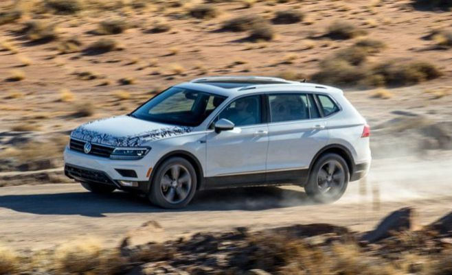 ...the hood, the forthcoming model will be powered by a turbocharged 2.0-liter inline-4 engine... 184 horsepower @ 4400 rpm...2018 VW Tiguan Review... #prototype #2018VWTiguan #2018Tiguan