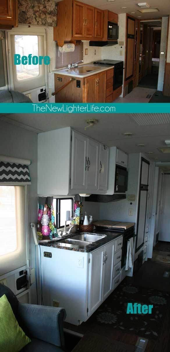 Lots of great posts about their camper remodel!: