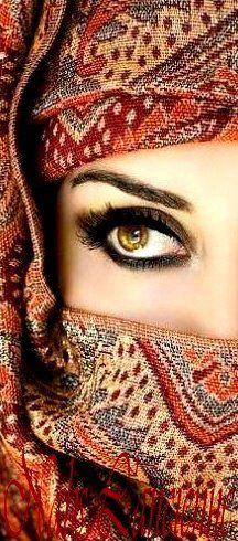 Veiled in splendor.