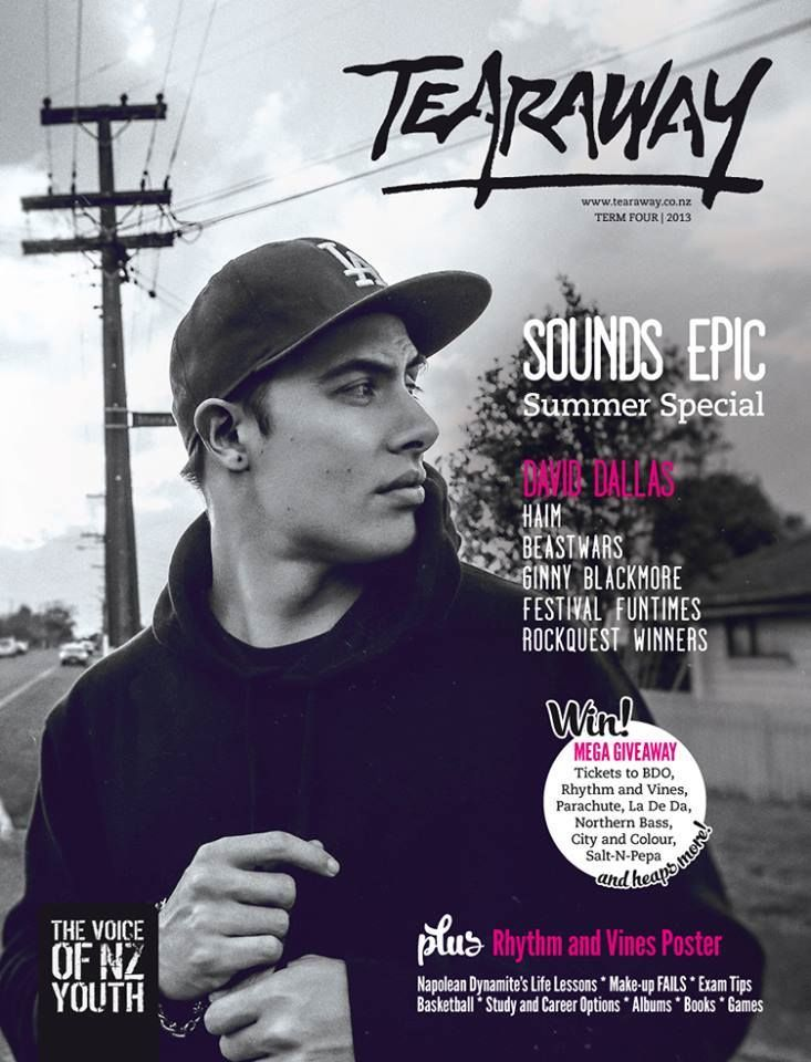 Tearaway - Term 4 | 2013 with New Zealand artist, David Dallas, on the cover!