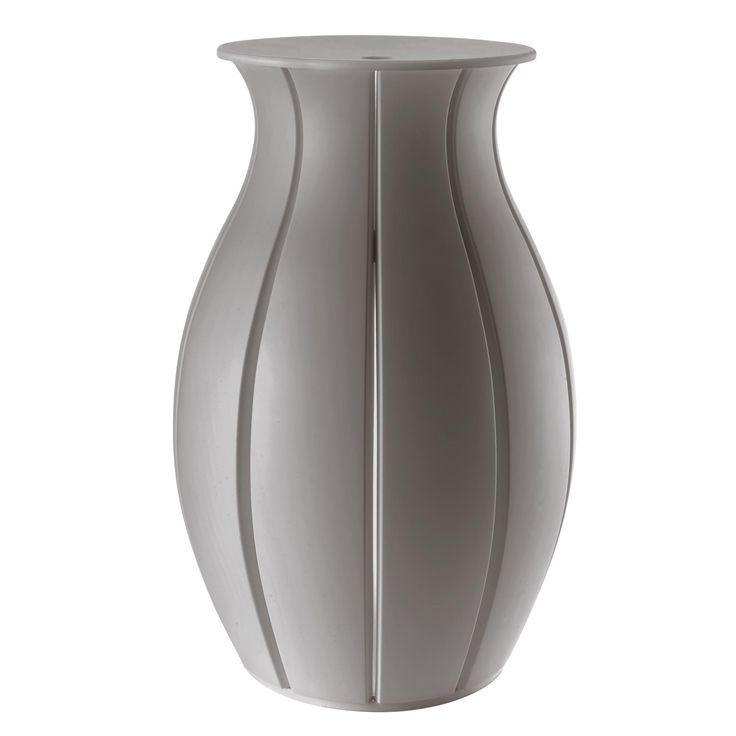 Portabiancheria Ninfea diametro 43xh65 cm - 63 lt Argilla in materiale Plastico | Guzzini | Stilcasa.Net: ceste per la biancheria