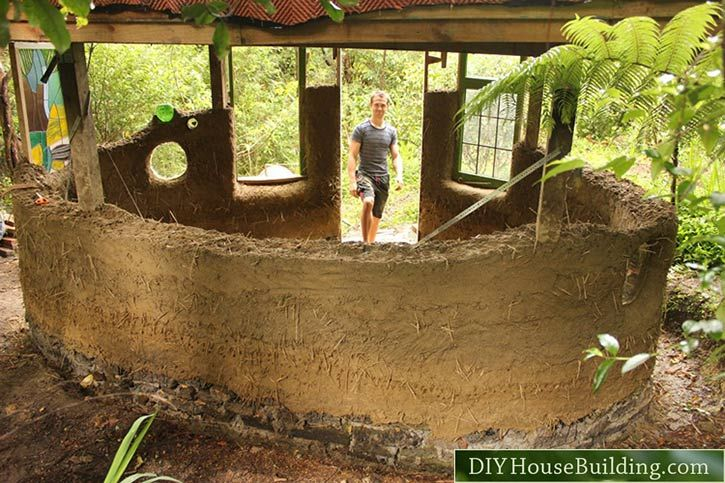 538 best images about cob straw bale earth bag houses on for Diy adobe house