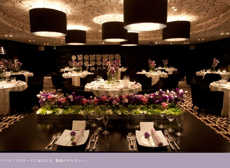 BANQUET - LUXURY SUITE | 名古屋の結婚式場 | スイートルームウエディング | ザ グランクレール | THE GRAND CREER